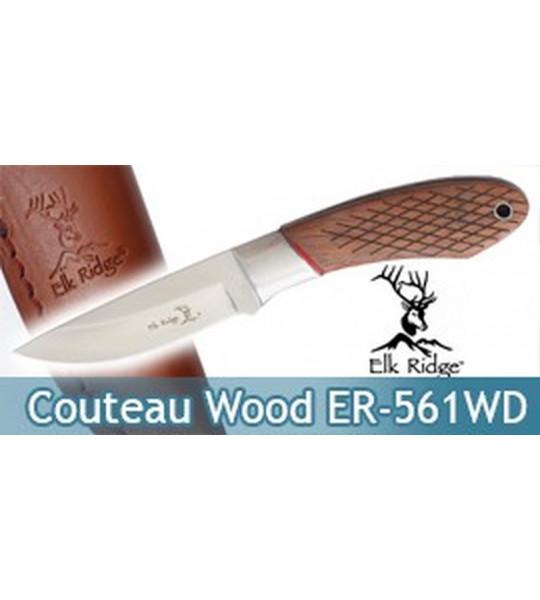 Couteau de Chasse Rustique Wood Edition ER-561WD