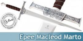 Epee Connor Macleod du Clan Macleod Marto Highlander