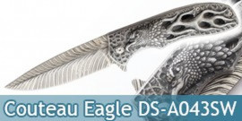 Couteau Pliant Black Eagle Dark Side Blades DS-A043SW
