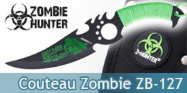 Couteau Zombie Hunter Poignard Dague ZB-127