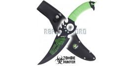 Couteau Zombie Hunter Poignard Dague ZB-127