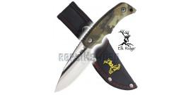 Petit Couteau de Chasse Elk Ridge Lame Fixe ER-535BC