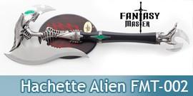 Hache Alien Hachette Fantasy Master FMT-002