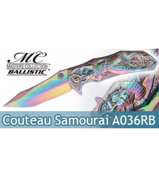 Couteau Pliant Rainbow Samourai Masters Collection