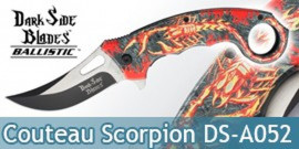 Couteau Pliant Fire Scorpion Dark Side Blades DS-A052