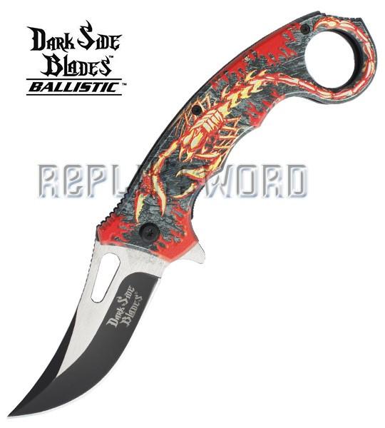 Couteau Pliant Fire Scorpion Dark Side Blades DS-A052