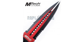 Couteau Red MtechDague MT-20-75RD