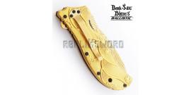 Couteau Pliant Gold Dragon DS-A042GD