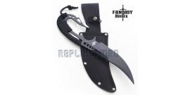 Couteau Black Scorpio Dague Poignard Fantasy FM-680