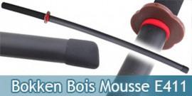 Bokken Bois Mousse Epee Sabre Entrainement E411
