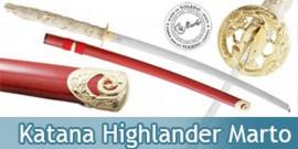 Highlander Katana de Duncan Macleod Epee Marto HI8180