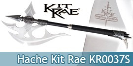 Hache Kit Rae KR0037S Black Legion War Axe Reissue