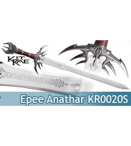 Epee Kit Rae Anathar Reissue KR0020S Sabre Replique Acier