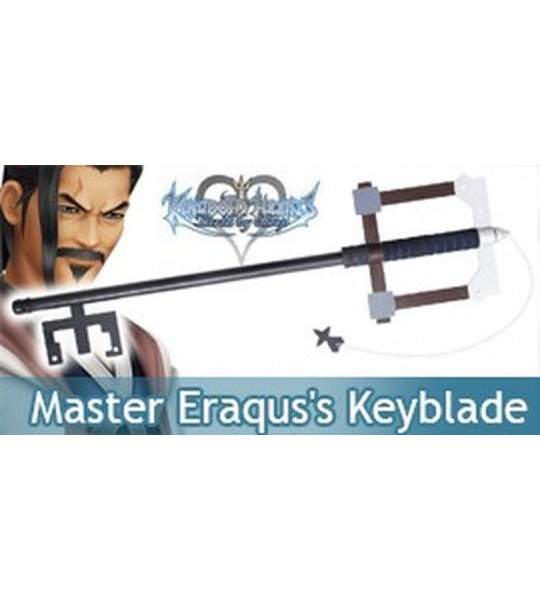 Master Eraqus's Keyblade Birth By Sleep Epee Replique