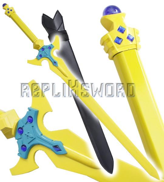 Alfheim Online Epee Kirito Excalibur Replique Sabre