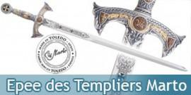Epee des Templiers Marto Chevalier Templier 584.1