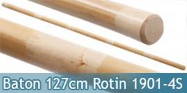 Baton Entrainement 127cm Bois Rotin 580grs JO Droit
