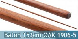 Baton Entrainement 153cm Bois OAK 520grs BO Effilé 1906-5