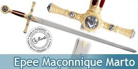 Epee Maçonnique Marto Chevalier Franc Macon 775
