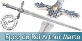 Epee du Roi Arthur Chevalier de la Table Ronde Marto