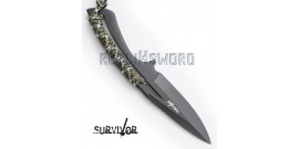 Petit Couteau de Survie et Allume Feu HK-767CA
