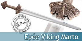 Erik le Rouge Epée Viking Marto Vikings 543