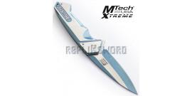 Couteau de Poche Ballistic Blue Edition MX-A852BL