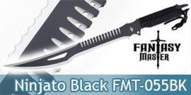 Ninjato Machette Shinobi Black Edition Epee FMT-055BK