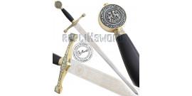Epee Excalibur Edition Gold Black Marto Roi Arthur