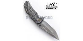 Couteau de Poche Grey Ninja MC-A035SW