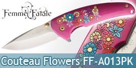 Couteau de Poche Femme Fatale Flowers FF-A013PK