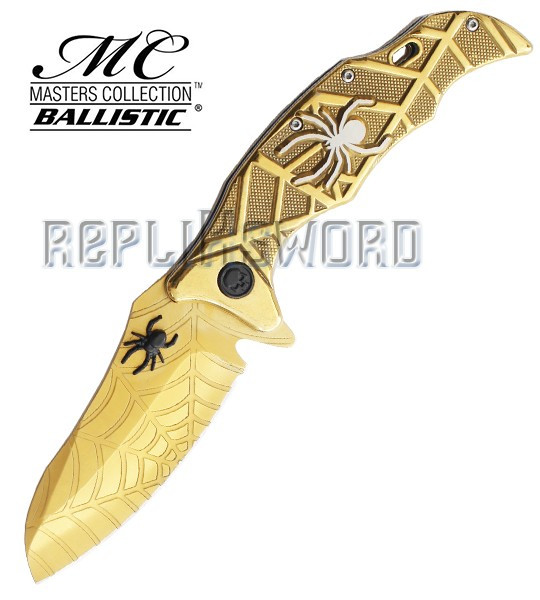 Couteau de Poche Spider Gold MC-A018GD Pliant