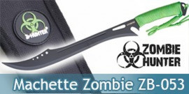 Machette Zombie Hunter Sabre Epee Courte ZB-053