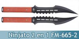 Double Ninjato Epee 2 en 1 Fantasy Master FM-665-2