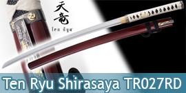 Ten Ryu - Shirasaya Katana Forgé Tomoe - Maru 1045