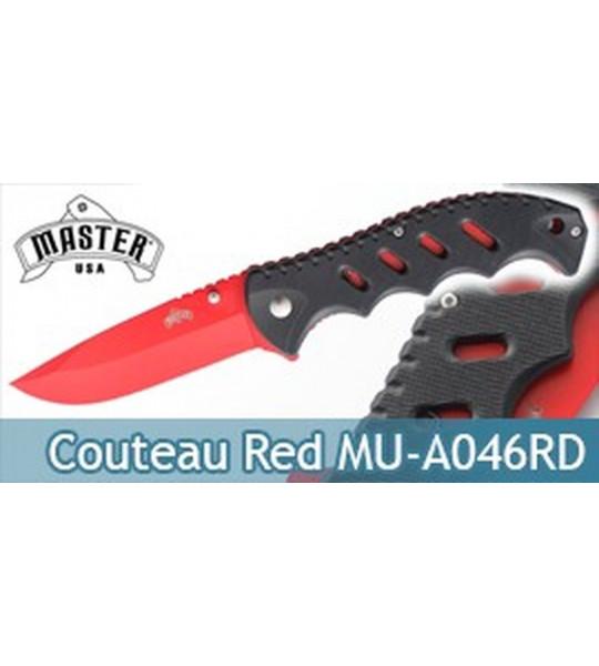 Couteau de Poche Master Cutlery Red MU-A046RD
