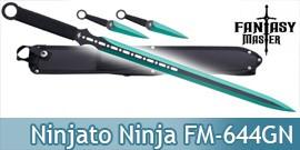 Epee Ninjato Green Edition Ninja Shinobi FM-644GN