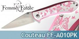 Couteau de Poche Femme Fatale Papillon FF-A010PK