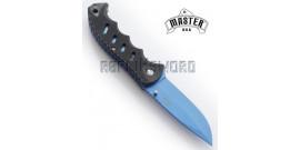 Couteau de Poche Master Cutlery Blue Edition MU-A046BL