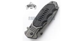 Couteau Pliant Master Cutlery Grey Edition MU-A041SB