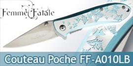 Couteau de Poche Femme Fatale Papillon FF-A010LB