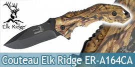 Couteau de Poche Nature Chasseur Elk Ridge ER-A164CA