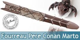 Fourreau de l'épée du pere de Conan le Barbare Marto