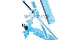 Sword art Online Epée Eugeo Lame Acier Blue Rose
