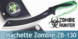 Machette Zombie Hunter Sabre Epee Courte ZB-130
