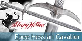 Sleepy Hollow Cavalier Sans Tete Epee Hessian Sabre