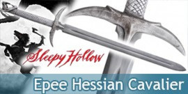 Sleepy Hollow Cavalier Sans Tete Epee Hessian Sabre