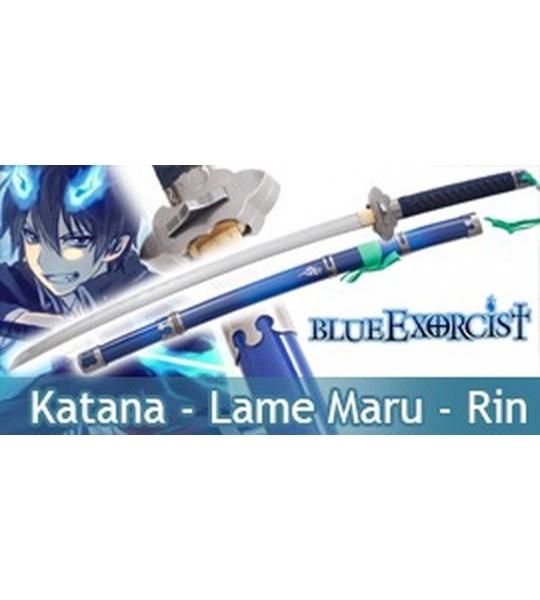 Blue Exorcist Katana Practical de Rin Okumura Epée