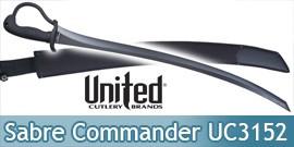 United Cultery Combat Commander Sabre Noir UC3152