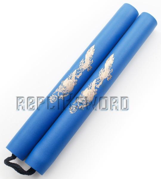 Nunchaku Dragon Mousse Bleu Entrainement 801-BL